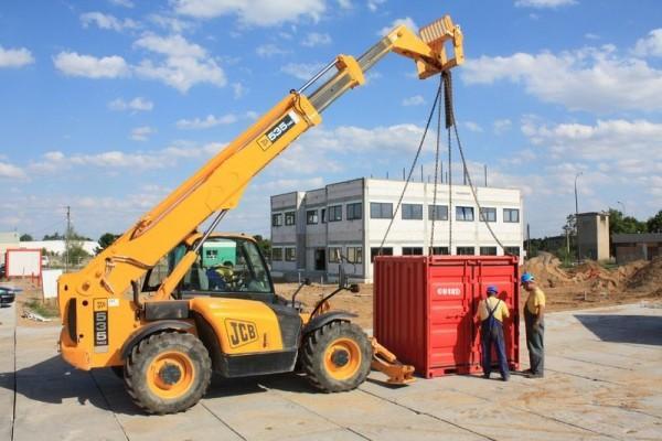 przewóz kontenera